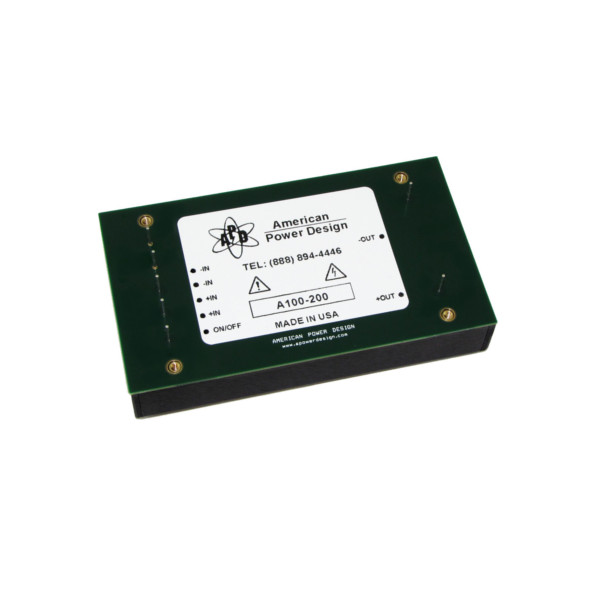 a100-series-100w-regulated-hv-dc-dc-converters